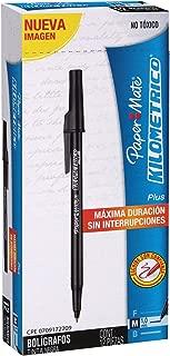 Paper Mate Kilometrico Ball Point Pen Colour Black Pack 12 Pieces