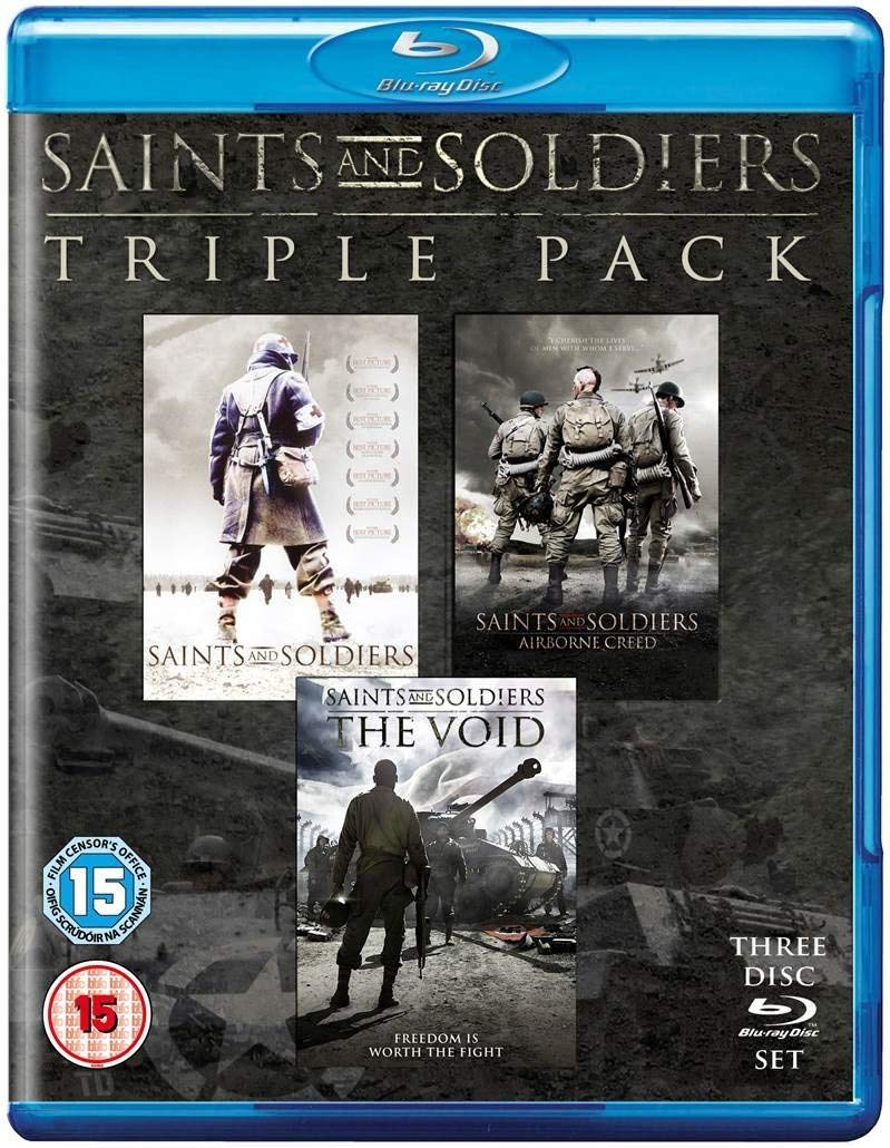 Manufacturer direct delivery Saints Popular products Soldiers Triple Pack Blu-ray Free PAL Region