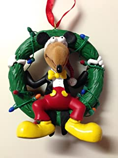 Disney Parques Muppets Rizzo la rata como Mickey Mouse adorno de corona nueva