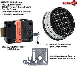 Sargent & Greenleaf 6120-305 Electric Safe Lock W/1-9 Min Delay by Sargent and Greenleaf