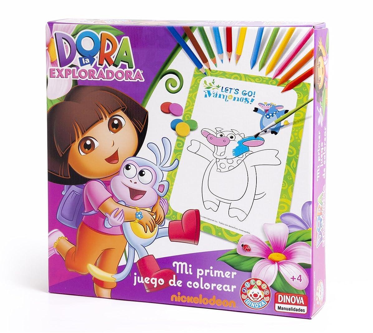 Nickelodeon?–?Dora The Explorer, My First Colouring Set (Dinova d0562001)
