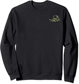 Netflix Stranger Things He Likes It Cold Left Chest Sweatshirt