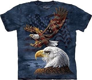 The Mountain Men's Eagle Flag Collage T-Shirt