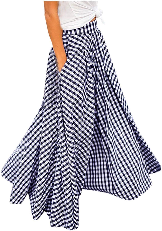 ZAKIO Summer Dresses for Women Flowy Women's High Large special price trend rank Elegant Waist