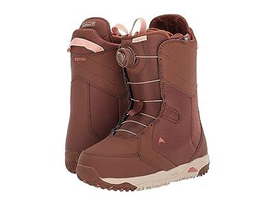 Burton Limelight Boa(r) Snowboard Boot (Brown Sugar) Women