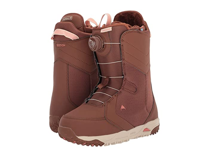Burton  Limelight Boa Snowboard Boot (Brown Sugar) Womens Cold Weather Boots