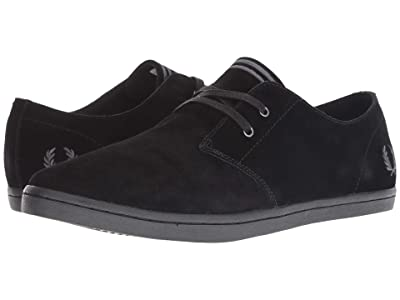 Fred Perry Byron Low Suede (Black) Men