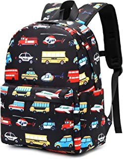 CAMTOP Kids Backpack Preschool Kindergarten Bookbag Toddler School Bag for Boys and Girls (Y065 Black)