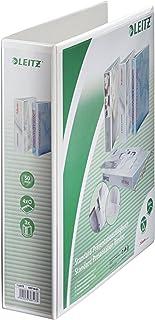 weiß 2 x Leitz 4205 Präsentationsordner Ringbuch A4 SoftClick 4 Ringe 60 mm