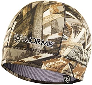 Stormr Mens and Womens Waterproof Windproof 3 MM Premium Micro-Fleece Lined Neoprene Beanie best used for Hunting, Waterfowlers, Winter, Snow, and Camouflage