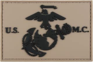 Morale Tags USMC EGA United States Marine Corps 3D PVC Tactical Hook and Loop Patch