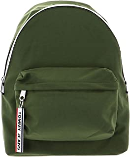 Tommy Jeans Logo Tape Backpack CRKL, Green, AM0AM06036