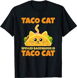 Tacocat Spelled Backwards Taco Cat Cinco De Mayo Shirt Gift