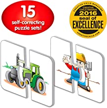 The Learning Journey: My First Match It - On the Farm - 15 Self-Correcting Farming Image Matching Puzzles