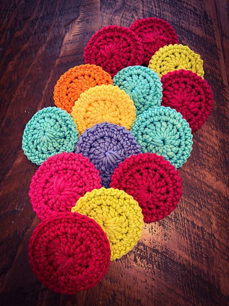 Popular products Handmade Nylon Pot Limited price sale Scrubbers