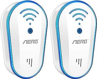 Aerb Ultrasonico Repelente de Mosquitos 10W, Eficiente Antimosquitos Electrico Ultrasonido Contro...