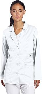 Dickies Scrubs 82408 Gen Flex Junior Fit - Chamarra de Laboratorio con Costura de Contraste Bata de Laboratorio para Mujer
