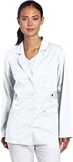 Dickies Women's Scrubs 82408 Gen Flex Junior Fit Contrast Stitch Lab Coat