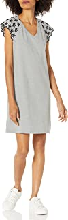 Tommy Hilfiger womens Pique Eyelet Sleeve Dress Dress