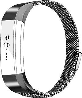 Vancle バンド for Fitbit Alta HR/Fitbit Alta ステンレス鋼 バンド 交換ベルト for Fitbit Alta 2016 / Fitbit Alta HR 2017 ユニークなマグネットロック付き(追跡装置...