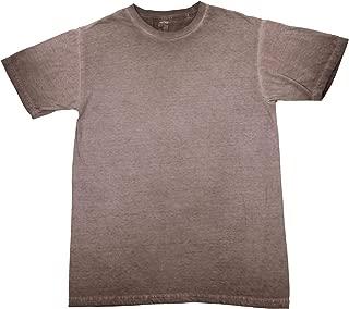 SpectraUSA Men's Reverse Oil Wash T-Shirt   100% Cotton 3100GD