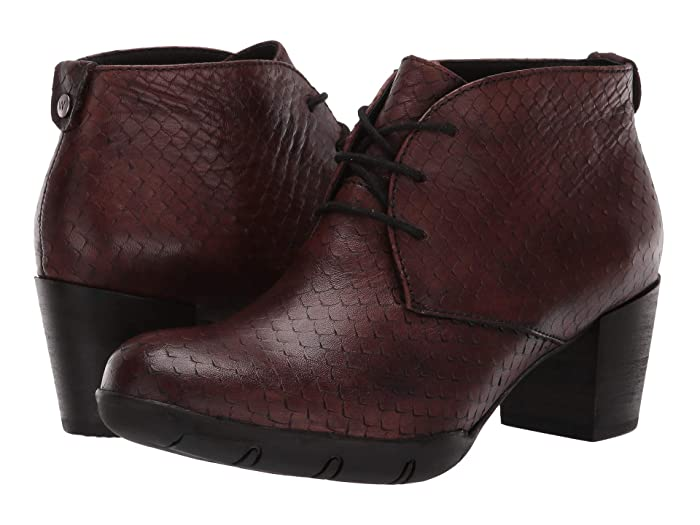 Wolky  Bighorn (Cognac) Womens Dress Lace-up Boots