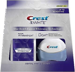 Crest 3D White Whitestrips with Light Teeth Whitening Kit, 20 strips
