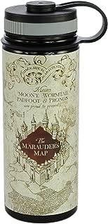 Harry Potter Stainless Steel Water Bottle - Marauder's Map Design - 550ml