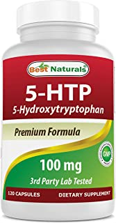 Sponsored Ad - Best Naturals 5-HTP 100 mg 120 Capsules, 5 HTP Capsules Supports Relaxation & restful Sleep, 7.0 Ounces