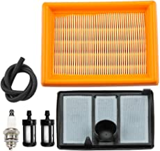 Leopop Air Filter for Stihl TS700 TS800 Cutquik Cut Off Saw 42241410300 42241401801 Air Cleaner Pre Filter Fuel Line Chainsaw Parts Kit