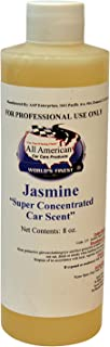 All American Super Concentrated Car Scent Air Freshener - Jasmine - Mix to Make 1 Gallon