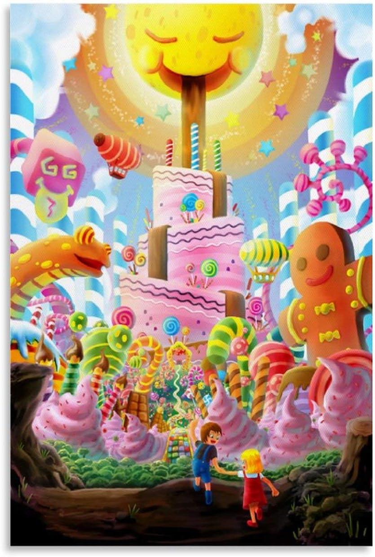 VUPAPE Cartoon Art Branded free shipping goods Poster World Full Bedr of Candy Modern Family