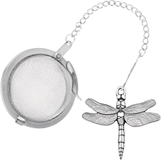 Danforth - Dragonfly Pewter Tea Infuser - Handcrafted - Gift Boxed - Made in USA