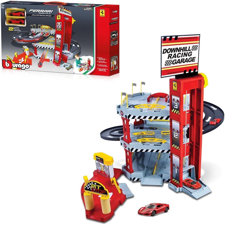 Bburago Ferrari Double Lane Racing Garage 15656096