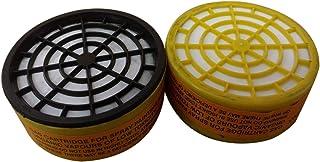 Galapagoz Replacement Filters Cartridges for Half Face Gas Spray Painting Mask Nose Organic Vapor Protection USA