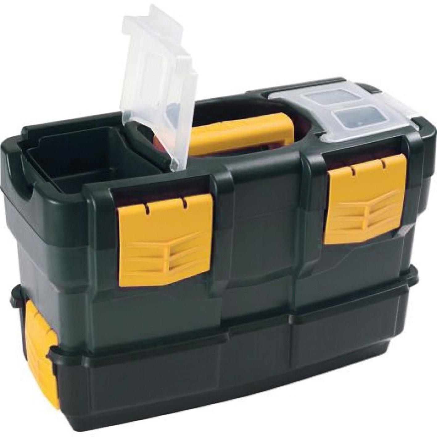 Art Plast 6300V De plástico, Polipropileno Negro, Amarillo caja de ...