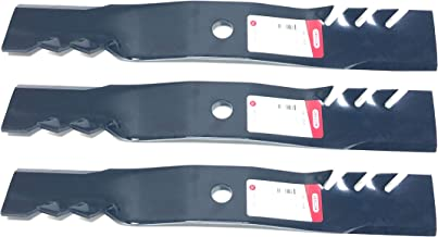 Set of 3, Made In USA Gator 3-In-1 Mulching Blades For John Deere M127500, M127673, or M145476
