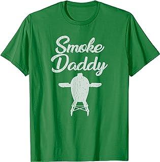Mens Smoke Daddy T-Shirt | Green Egg Shirt | Vintage BBQ Shirt