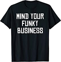 Mens Soca Threads: Mind Your Funky Business Soca Carnival Shirt