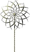 Ancient Graffiti AG-87108 Copper/Verdigris Pinwheel Staked Spinner, 22