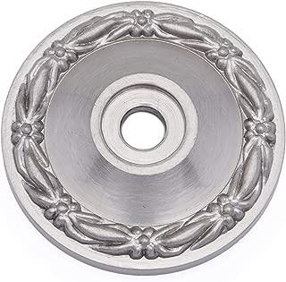 RK International RKI R.K , Satin Nickel Pewter International BP 7902 P Bent Rectangle Backplate