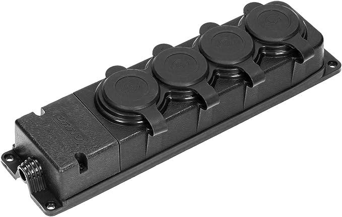184 opinioni per ORNO Multipresa Elettrica 4 Prese Schuko Esterna Impermeabile IP44 230V 16A