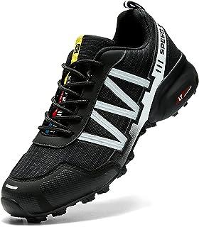 Dhinash Trekking Wanderschuhe Herren Outdoorschuhe Sneaker Wanderhalbschuhe Sneaker Leicht Atmungsaktiv Trekkingschuhe Spo...