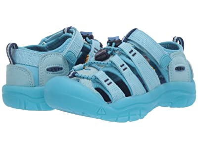 Keen Kids Newport H2 (Toddler/Little Kid) (Petit Four/Blue Mist) Girls Shoes
