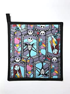 The Nightmare Before Christmas - Stained Glass - Handmade 9x9