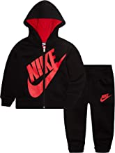 NIKE Children's Apparel Baby Boys Hoodie and Joggers 2-Piece Outfit Set, 24M