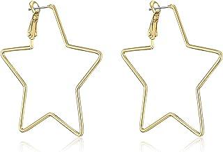 7e9dcc7872f67 Amazon.com: Sun, Moon & Stars - Hoop / Earrings: Clothing, Shoes ...
