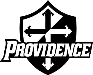 TDT Printing & Custom Decals Providence College Vinyl Decal Sticker for Car or Truck Windows, Laptops etc. (4