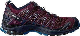 Salomon XA Pro 3D - Women's Trail Running Shoes, Potent Purple/Navy Blazer/Bluestone