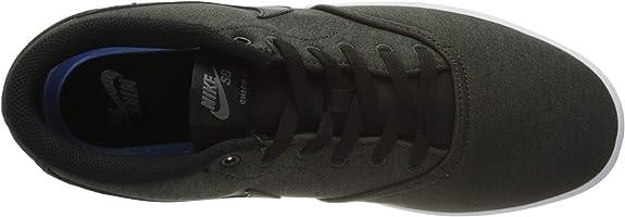 Amazon.com   Nike Mens SB Check Solar CNVS PRM Anthracite Black ...